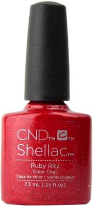 CND Shellac™ Ruby Ritz Color Coat - Gina Beauté