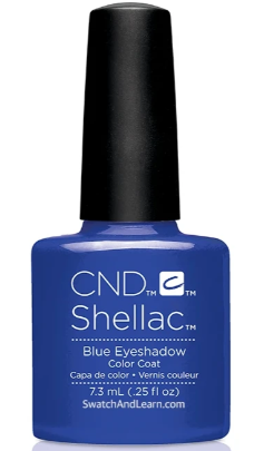CND Shellac™ Blue Eyeshadow Color Coat - Gina Beauté