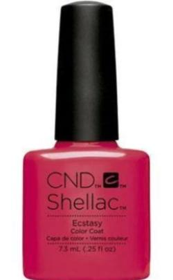 CND Shellac™ Ecstasy Color Coat - Gina Beauté