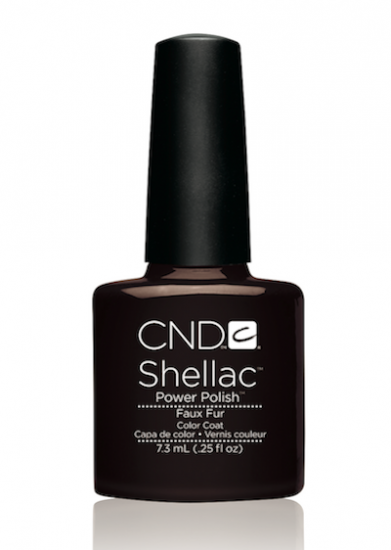 CND Shellac™ Faux Fur Color Coat - Gina Beauté