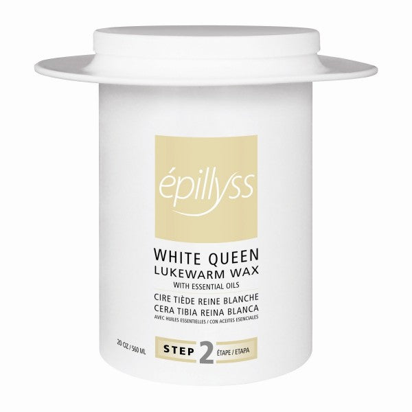 Epillyss Depilatory Wax White Queen 20 oz - Gina Beauté