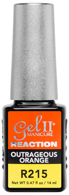 Gel II Outrageous Orange R215 - Gina Beauté