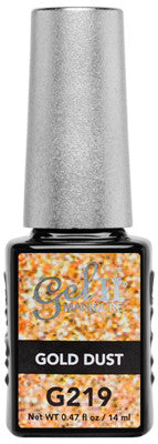 Gel II Gold Dust G219 - Gina Beauté