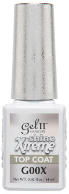 Gel II Xtreme Shine Top Coat G00X - Gina Beauté