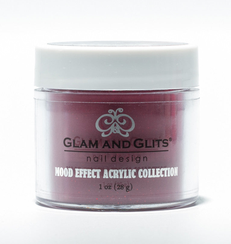 Glam And Glits Nail Design Mood Effect Acrylic Backfire - Gina Beauté