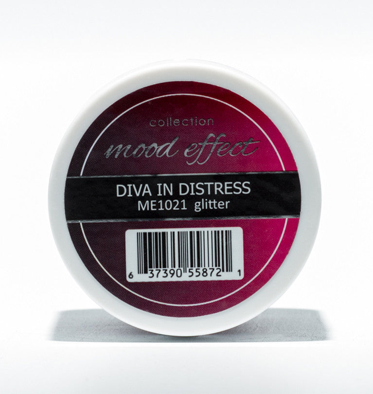 Glam And Glits Nail Design Mood Effect Acrylic Diva In Distess - Gina Beauté