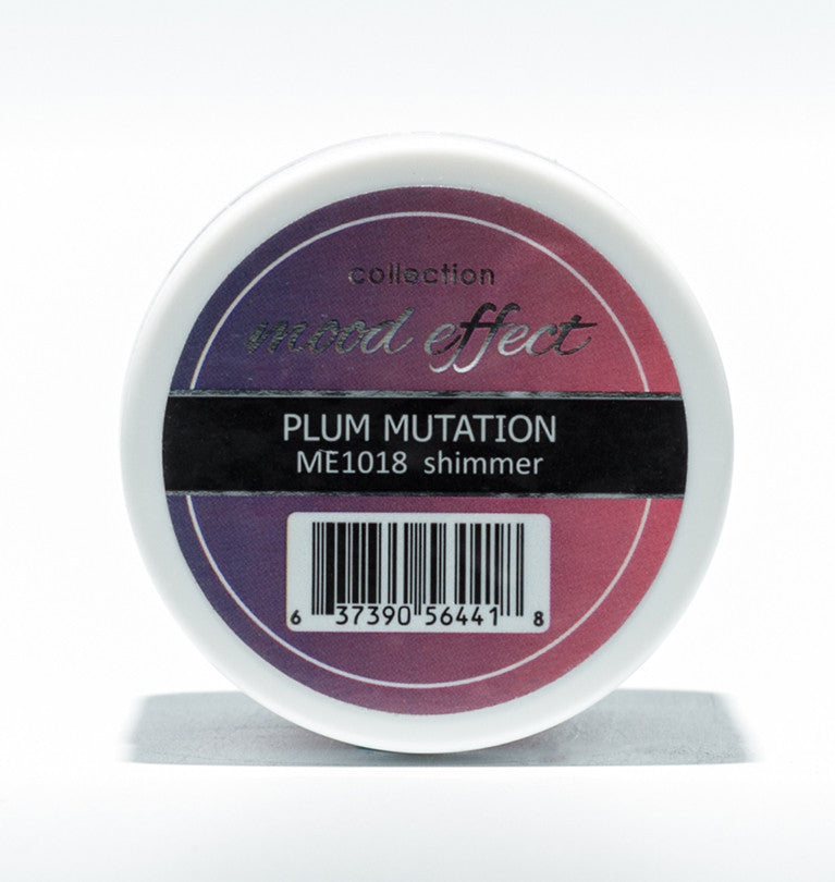Glam And Glits Nail Design Mood Effect Acrylic Plum Mutation - Gina Beauté