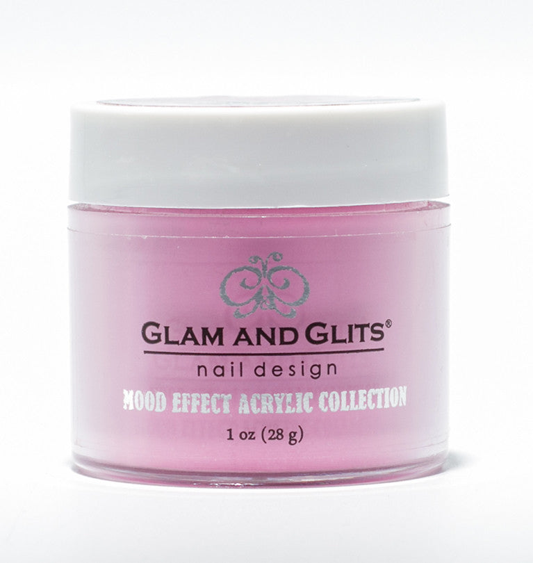 Glam And Glits Nail Design Mood Effect Acrylic White Rose - Gina Beauté