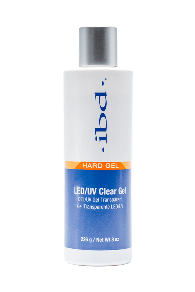IBD Hard Gel LED/UV CLEAR 8 OZ
