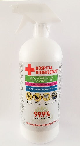 La Palm Hospital Disinfectant 32oz ( 946.35 ml)