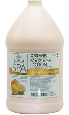 La Palm Orange Tangerine Zest Massage Lotion - Gina Beauté