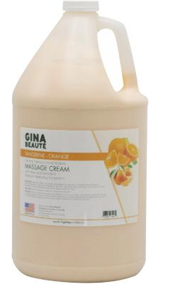 Gina Beauté Tangerine Orange Healing therapy massage cream - Gina Beauté