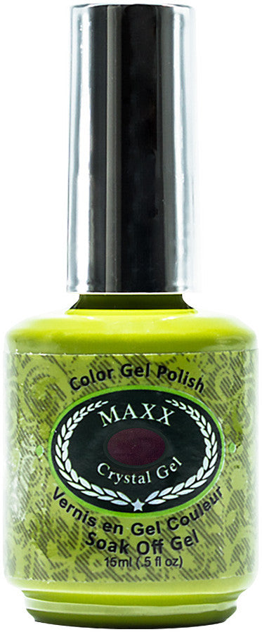 Maxx Crystal Gel Color Polish 016