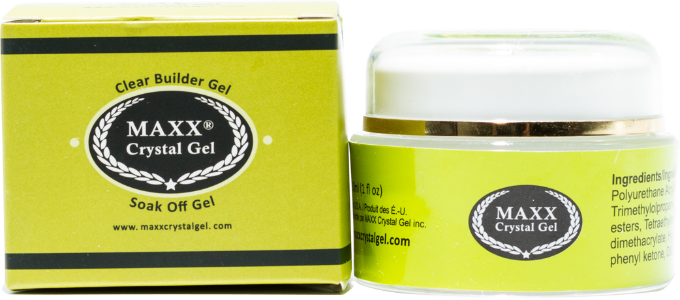 Maxx Crystal Gel Clear Builder Gel - Gina Beauté