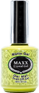Maxx Crystal Gel Clear Matte Gel - Gina Beauté