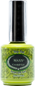 Maxx Crystal Gel Clear Top Gel - Gina Beauté