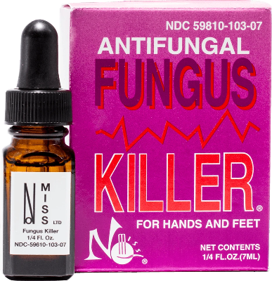 Fungus Killer 7 ml Bottle Boxed - Gina Beauté
