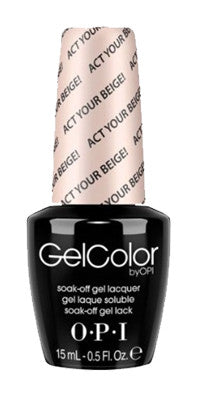 O·P·I GelColor T66 Act Your Beige - Gina Beauté
