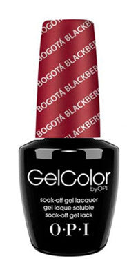 O·P·I GelColor F52 Bogota Blackberry - Gina Beauté