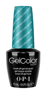 O·P·I GelColor E75 Can't Find My Czechbook - Gina Beauté