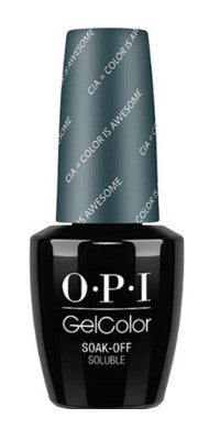 O·P·I GelColor W53 CIA = Color Is Awesome - Gina Beauté