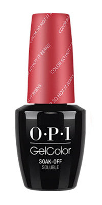 O·P·I GelColor Z13 Color So Hot It Berns - Gina Beauté