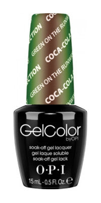 O·P·I GelColor Green On The Runway