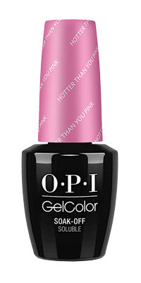 O·P·I GelColor Hotter Than You Pink