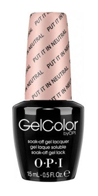 O·P·I GelColor T65 Put it In Neutral - Gina Beauté