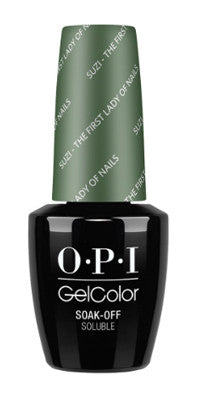 O·P·I GelColor W55 Suzi - The First Lady Of Nails - Gina Beauté