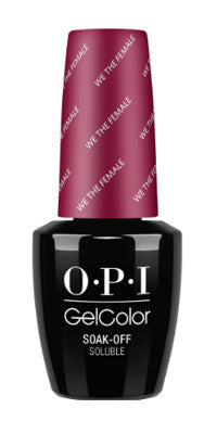 O·P·I GelColor W64 We The Female - Gina Beauté