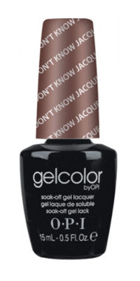 O·P·I GelColor F15 You Don't Know Jacques - Gina Beauté