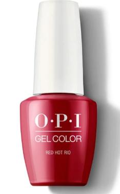O·P·I GelColor A70 Red Hot Rio - Gina Beauté