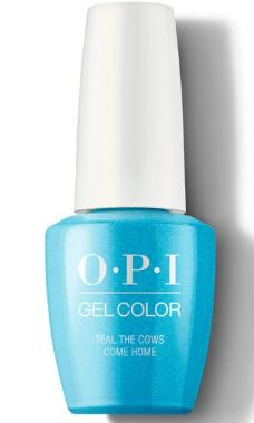 O·P·I GelColor B54 Teal The Cows Come Home - Gina Beauté