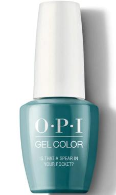 O·P·I GelColor F85 Is That A Spear In Your Pocket? - Gina Beauté