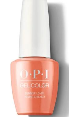 O·P·I GelColor G43 Summer Lovin' Having A Blast! - Gina Beauté