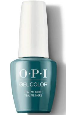 O·P·I GelColor G45 Teal Me More, Teal Me More - Gina Beauté