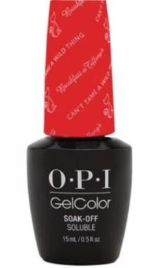 O·P·I GelColor H15 Can't Tame A Wild Thing - Gina Beauté