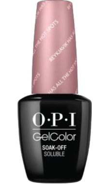O·P·I GelColor I63 Reykjavik Has All The Hot Spots - Gina Beauté