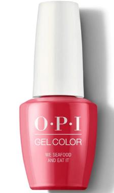 O·P·I GelColor L20 We Seafood And We Eat It - Gina Beauté