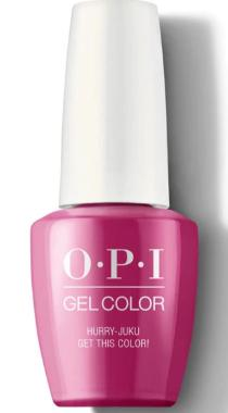 O·P·I GelColor T83 Hurry-Juku Get This Color! - Gina Beauté