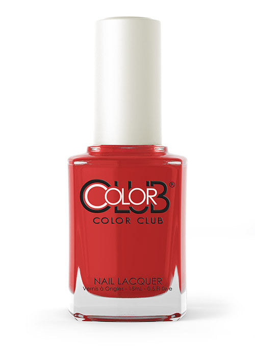 Color Club™ Cadillac Red Nail Lacquer - Gina Beauté