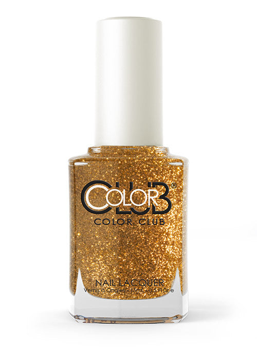 Color Club™ Gold Glitter Nail Lacquer - Gina Beauté
