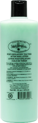 Sharonelle Tea Tree After Wax Lotion 16oz - Gina Beauté