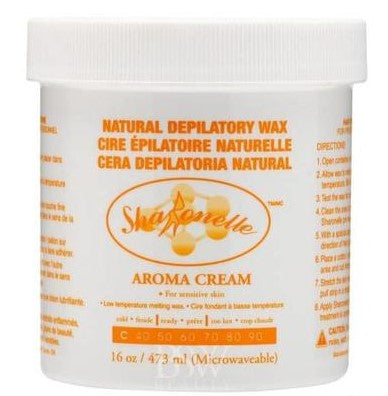 Sharonelle Natural Depilatory Wax Aroma Cream 16oz - Gina Beauté