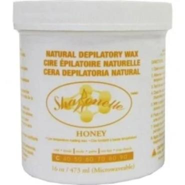 Sharonelle Natural Depilatory Wax Honey 16oz - Gina Beauté