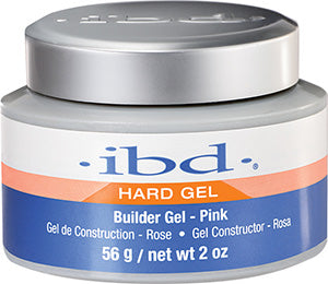 IBD Hard Builder PINK GEL 2 OZ - Gina Beauté