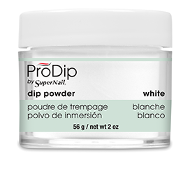 White Dipping Powder (2oz) - Gina Beauté