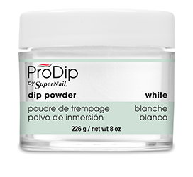 White Dipping Powder (8oz) - Gina Beauté