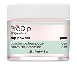 Pink Dipping Powder (8oz) - Gina Beauté